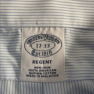 Brooks Brothers Non Iron Regent Shirt